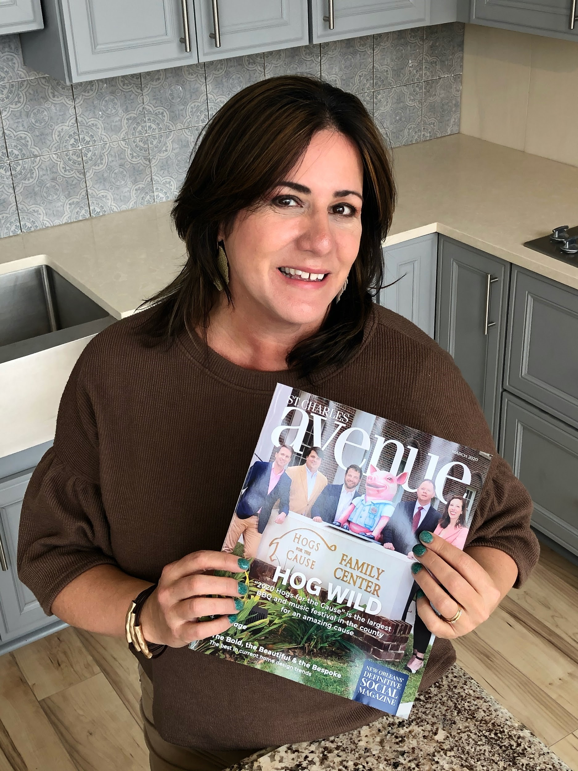 Singer Kitchens Talks 2020 Design Trends with St. Charles Magazine