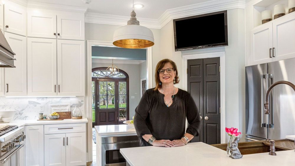 A White Kitchen Done Right in Abita Springs